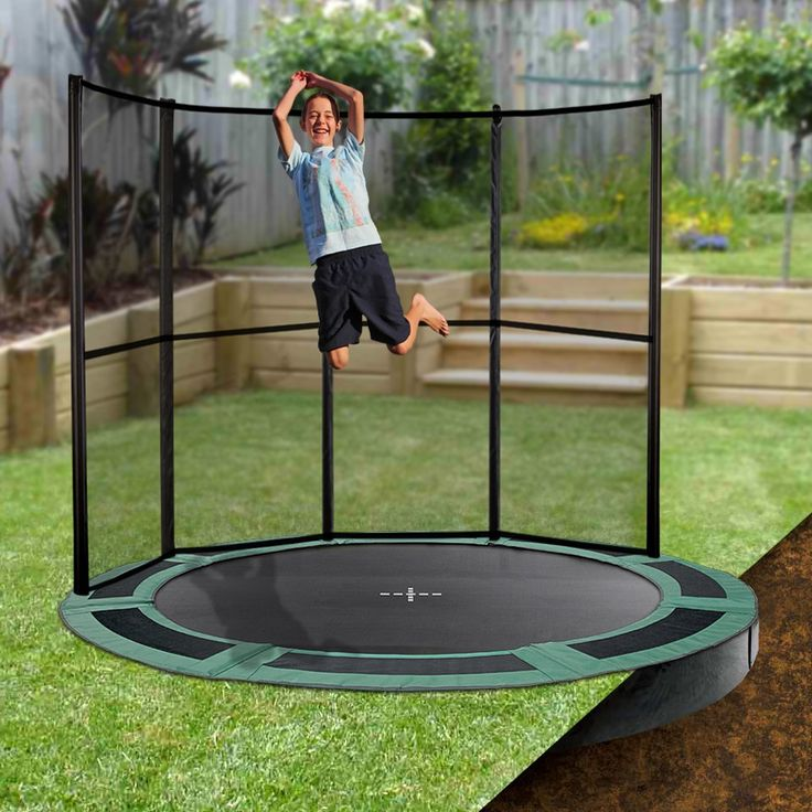 15 best Inground Trampolines images on Pinterest