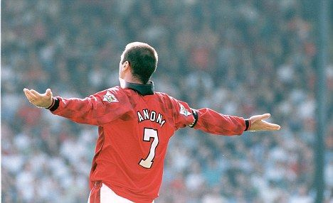 King of Old Trafford: Eric Cantona