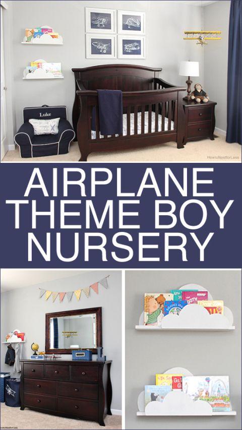 Kids Bedroom Boy best 25+ airplane boys rooms ideas on pinterest | airplane bedroom