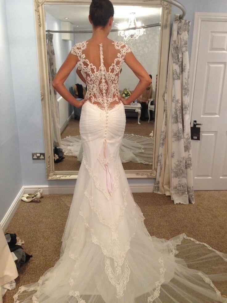 Galia Lahav lace wedding dress, absolutely gorgeous!