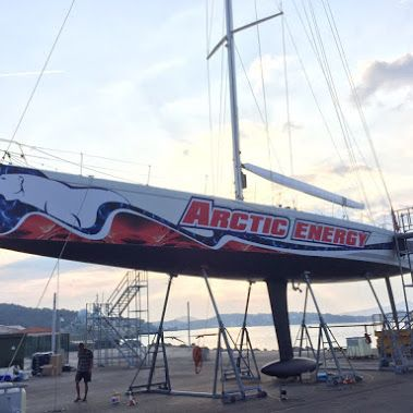 The Regata Copa del Rey has been in full swing this week in Palma de Mallorca and one of the #yachts our #WGITeam recently wrapped, Arctic Energy, has been racing. #transformyouryacht