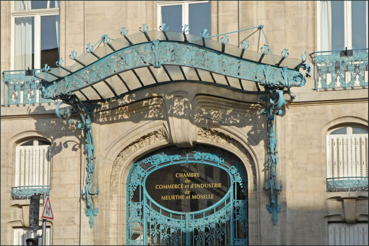 17 best images about atc art nouveau architecture on - Chambre du commerce et de l industrie nancy ...