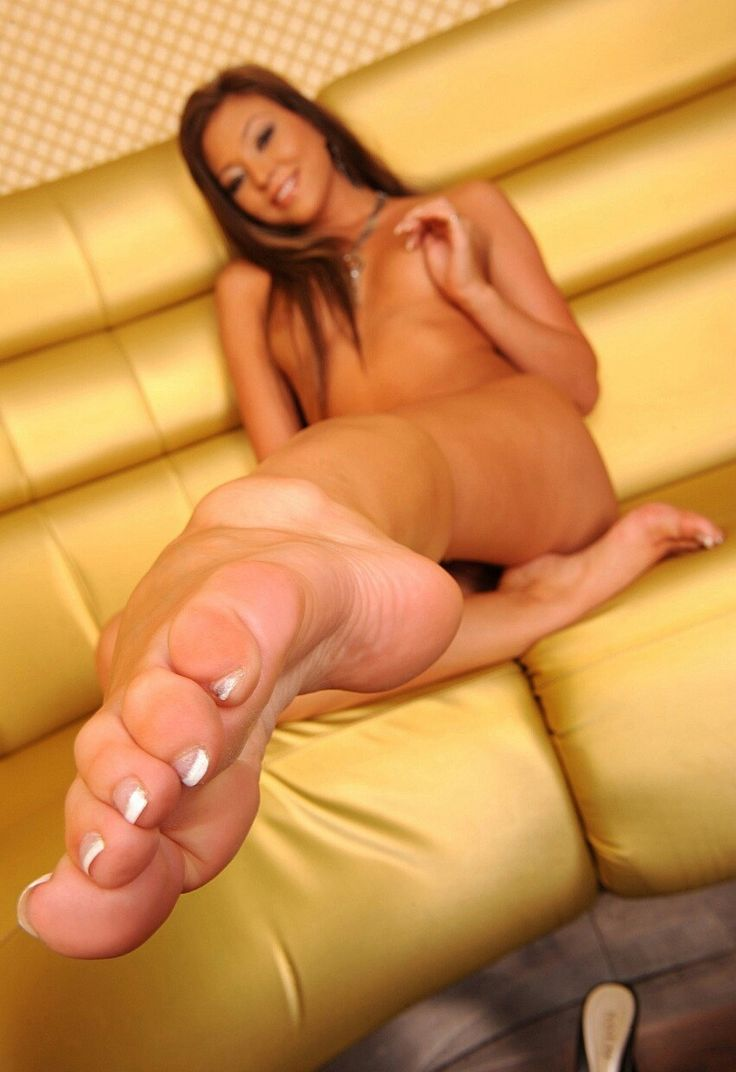 Something and Sexy feet naked