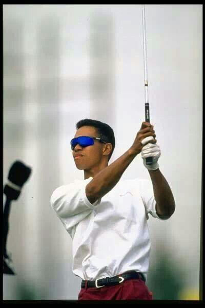 Tiger Woods 1995 april