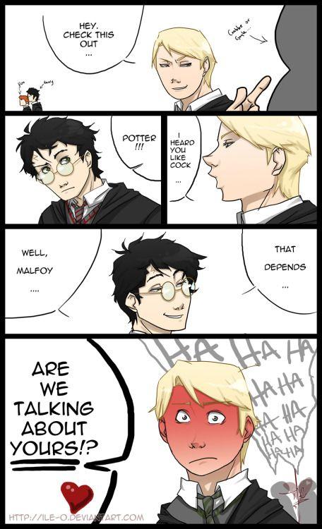 Schwule Fan-Fiction: Harry Potter liebt Männer -