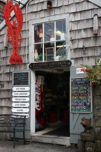 New England's Best Lobster Shacks and Seafood Dives - Also seafood and lobster recipes