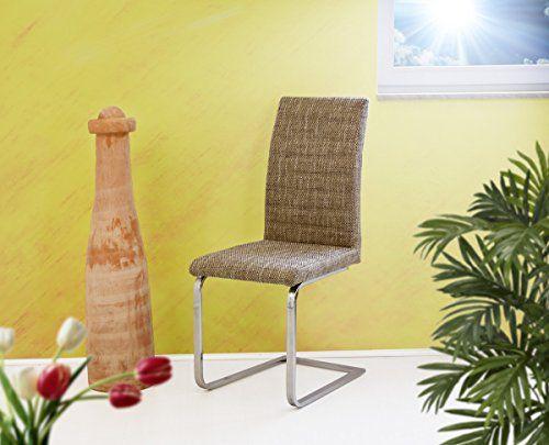 jana schwingstuhl stoff capucchino braun meliert. Black Bedroom Furniture Sets. Home Design Ideas
