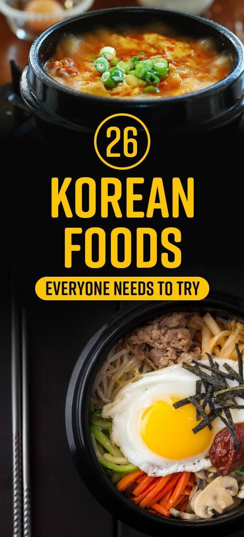 26 Delicious Korean Foods You Need In Your Life {Read|Find more} about {korean cuisine|korean food|korea food|south korean food} {clicking| - clic} link below:  http://foodyoushouldtry.com/33-best-dishes-taste-korea/