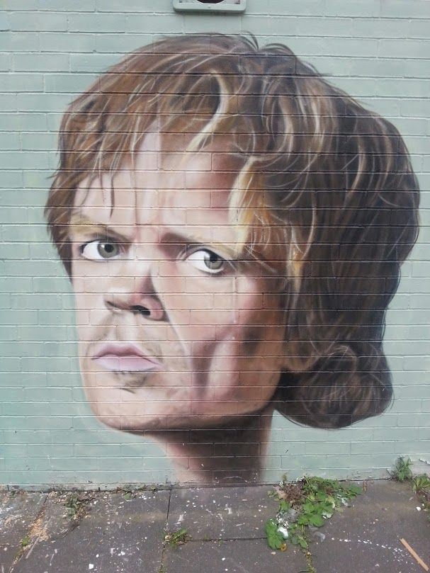 Manchester #streetart by Akse #grafitti #gameofthrones
