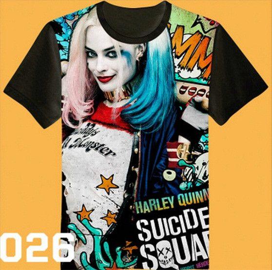 Suicide Squad Premium Designer Variety Shirts