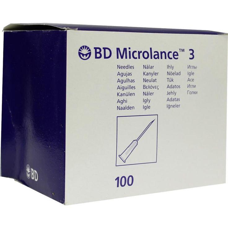 BD MICROLANCE Kanüle 20 G 1 1-2 0,9x40 mm:   Packungsinhalt: 100 St Kanüle PZN: 03086924 Hersteller: Becton Dickinson GmbH Preis: 2,82…