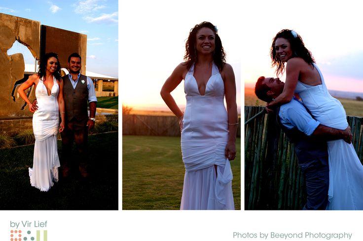 Sexy wedding dress by Vir Lief.