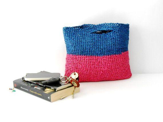 Häkeln Kupplungen Handtasche 1960er Jahren Stil von cosediisa
