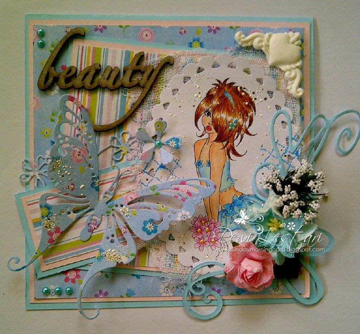 Creation for Whimsy Stamps August 2014 Digital Blog Hop #whimsystamps #digistamps #marikacollins #handmadecard #cardforsale