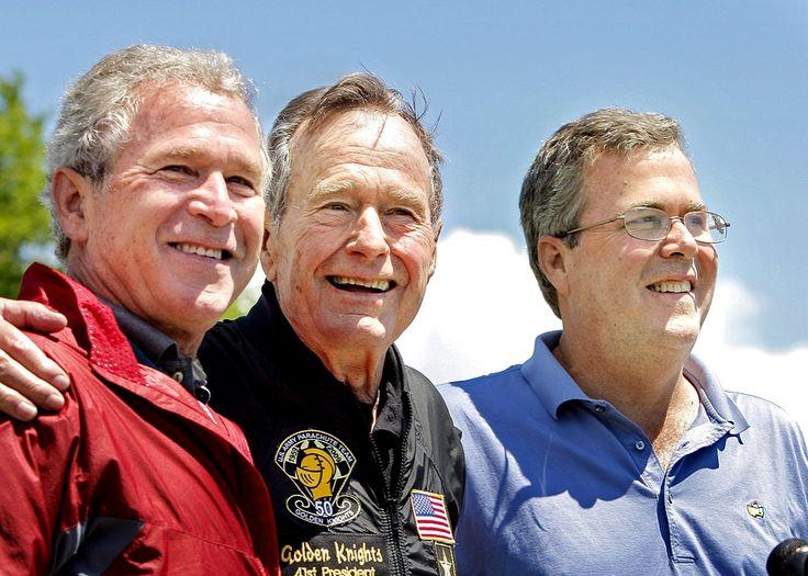 HW Bush gets critical