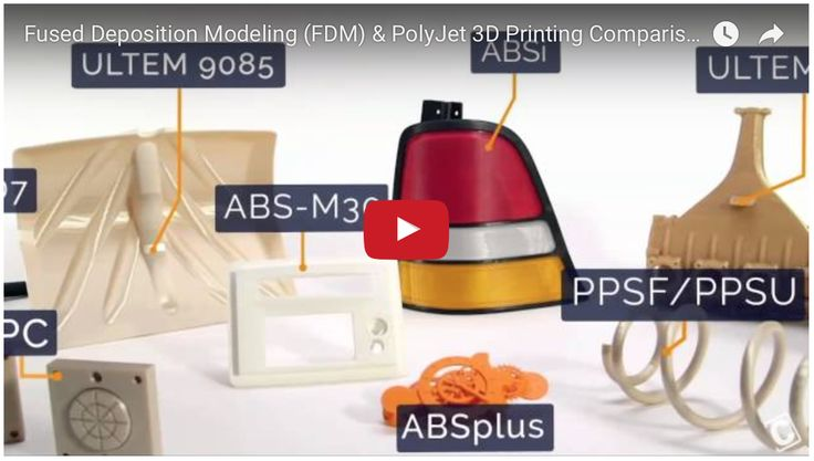 The Power Of PolyJet & Fused Deposition Modeling 3D Printing --- Watch On-Demand