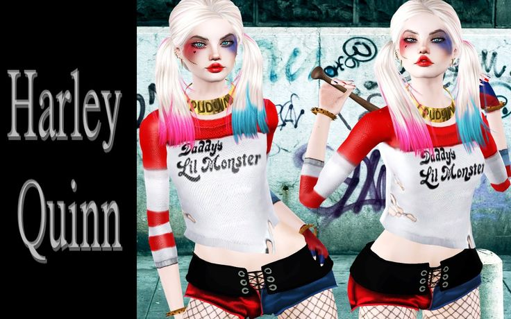 74 besten the sims 3 harley quinn bilder auf pinterest. Black Bedroom Furniture Sets. Home Design Ideas