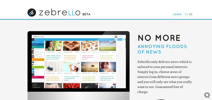 Zebrello u2013 News Tailored to Your Personal Interests CodeCondo - personal interests