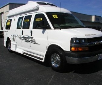 Information Of Cheap Used 2012 Pleasure way King bed 1- owner Class B motorhomes for sale by Register RV Center in Brooksville, FL, USA for $ 65000 at UsedRVs-Motorhomes.Com