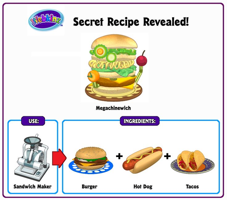 27 best webkinz secret recipes images on pinterest secret recipe recipe revealed megachinewich forumfinder Choice Image