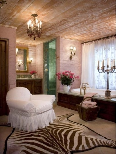To da loos: Suzanne Somers Palm Springs home`s romantic bathrooms