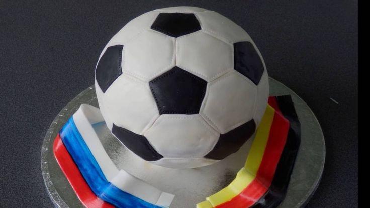 """торт""""Футбольный мяч"""" /Fussball Torte"""