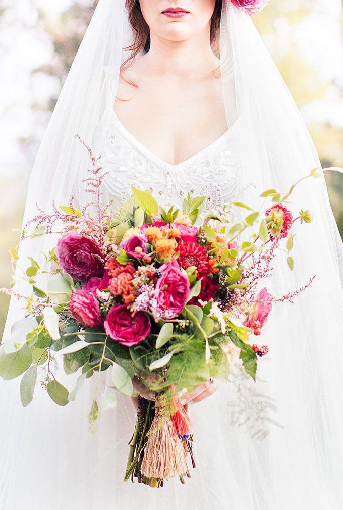 lush bouquet by Amanda Burnette | Reverie Supply & Co. | Glamour & Grace