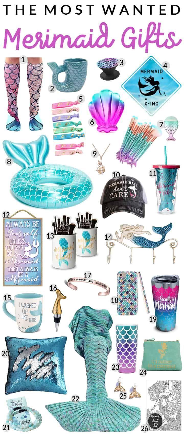 20 Mind Blowing Mermaid Gifts March 2020 Mermaid Gifts Tween