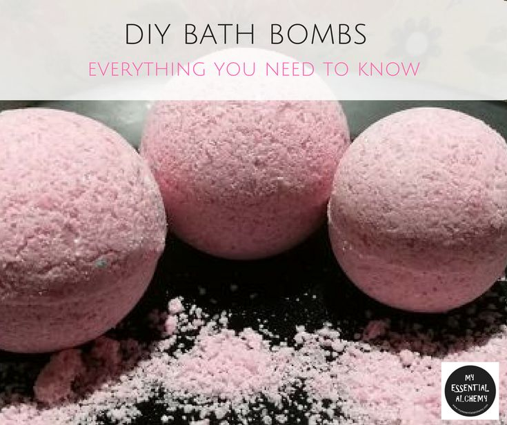 DIY BATH BOMBS: Everything you need to know