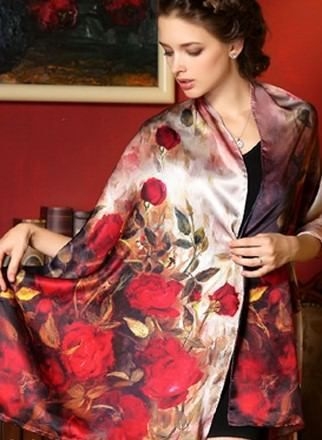 "Mulberry Silk Floral Scarves //Price: $25.42 & FREE Shipping //    Mulberry Silk Floral Scarves Long, graceful 100% silk scarves. Choose from 17 designs.   	Pure mulberry silk  	Approx. 175 x 52 cm / 69"" x 20.5""  	Digitally printed  	Hand wash with mild soap in water under 30° C / 86° F  	Drip dry away from sunlight, without wringing  	Avoid getting aerosol sprays on the silk (could cause brittleness)                 Get it here…"