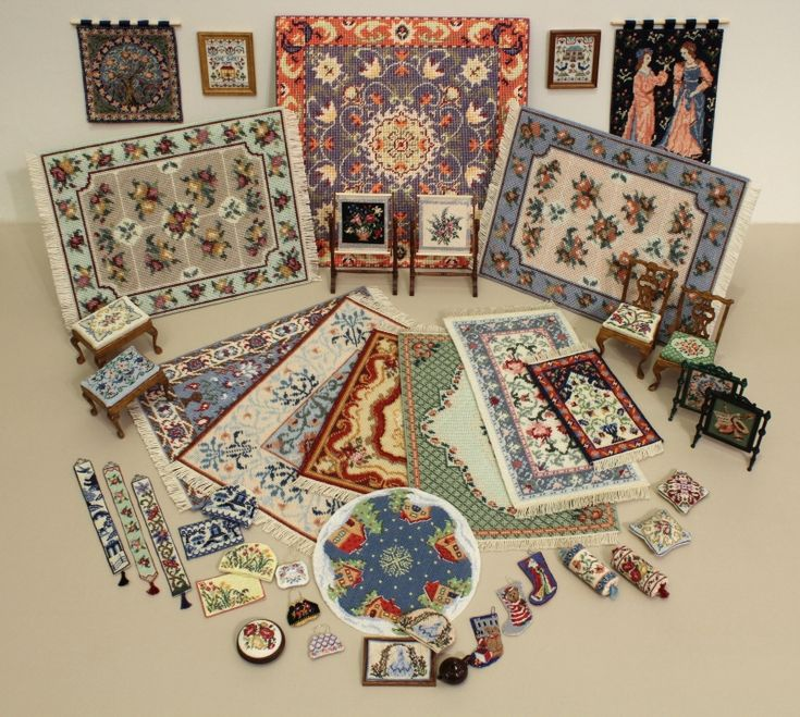 January Sale of dollhouse needlepoint kits and charts starts today! | Janet Granger's Blog