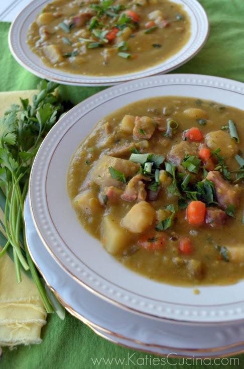 Slow Cooker Split Pea Soup | Quick Fix'n or Crockpot'n | Pinterest