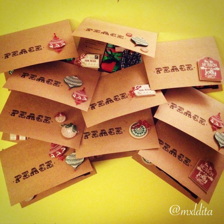 kraft christmas cards (2013)