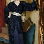 Black Moroccan Caftan Dress (10)