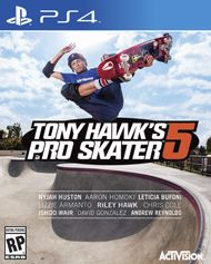 Tony Hawk Pro Skater 5 for PS4. Gamestop Exclusive preorder pack.