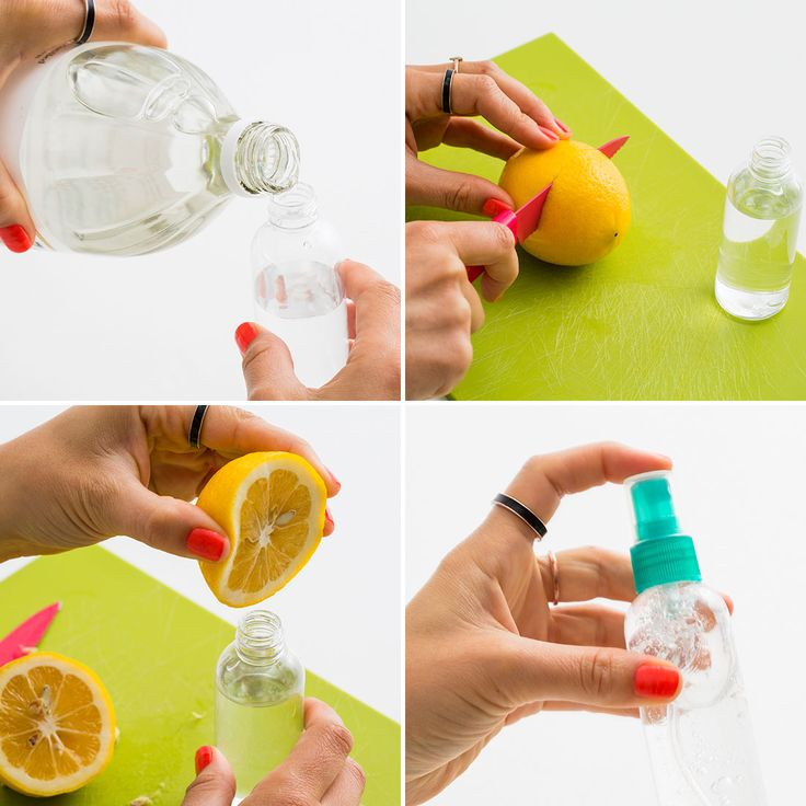Keep your yoga mat smelling fresh with this DIY cleaner.