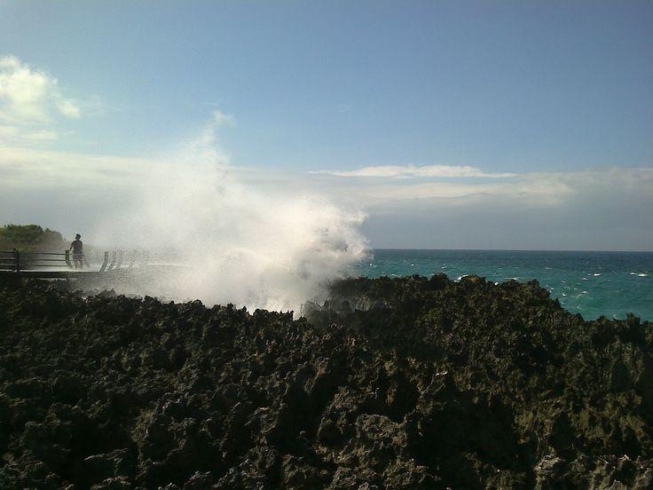 Bali, Denpasar - Nusa Dua : Water Blow
