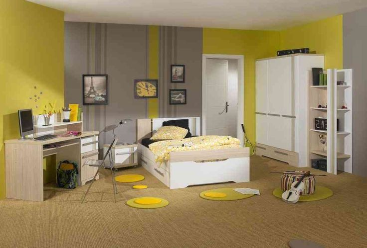 modern organizer yellow | Boy Teen Bedroom Furniture Boy Modern Bedroom Furniture with Blue And ...