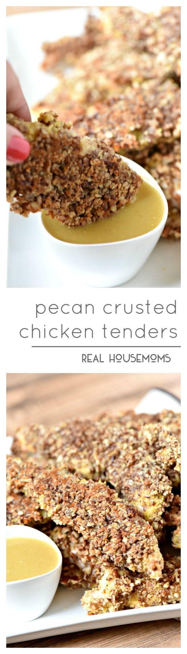 Pecan Crusted Chicken Tenders
