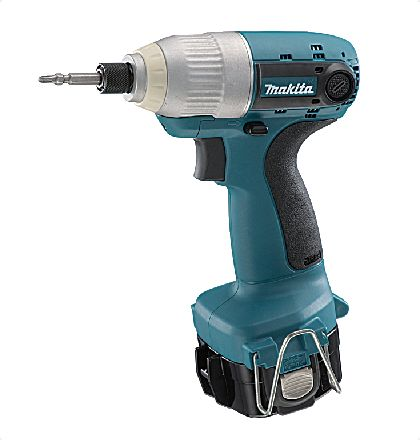 """Makita 6980FDWFE Cordless Impact Driver Drill     Unrivalled power and speed in this class.     Bumper of phosphorescent(glow-in-the-dark)material.     LED job light for excellent work efficiency in dimly-lit place.     Super power of the """"IMPACT MECHANISM"""" drives drywall screws into timber without pre-drilling pilot holes. For More Details: http://www.mrthomas.in/makita-6980fdwfe-cordless-impact-driver-drill_11"""
