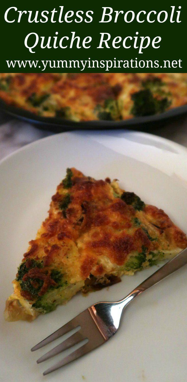Crustless Broccoli Quiche Recipe Crustless Broccoli Quiche