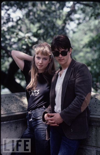 "Tom Cruise and Rebecca De Mornay 1983 Loved ""Risky Business"""