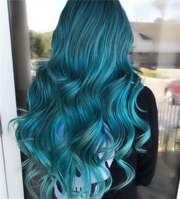 40 Fabulous Hair Color Ideas For Women 2019 Mavi Sac Boyalari