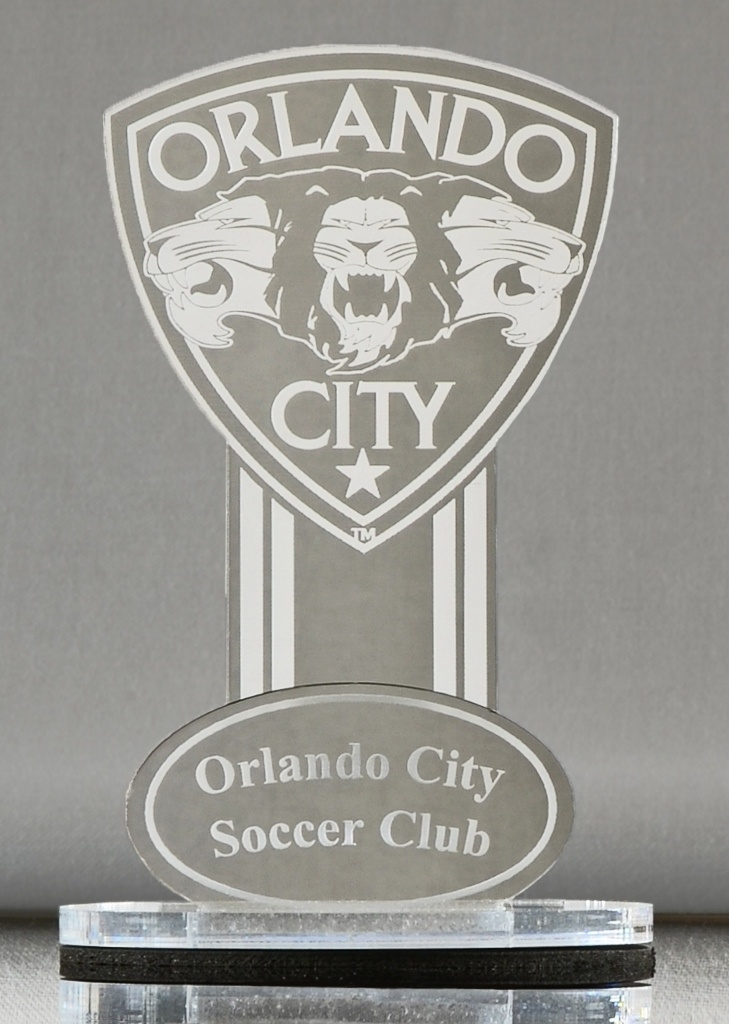Mirror Orlando City Soccer Club Collector's Edition Business Card Holder (Only available at the Orlando City Soccer Team Shop)