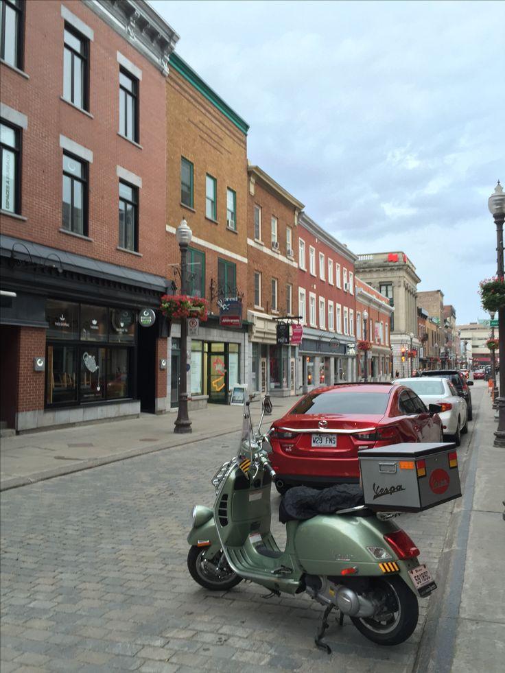 Quebec, Canada. #canada #vespa #quebec