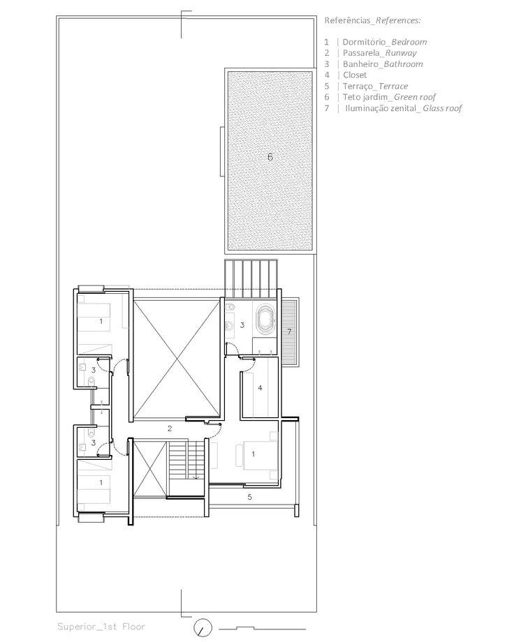 Casa MR - IDSP Arquitetos - Superior Floor