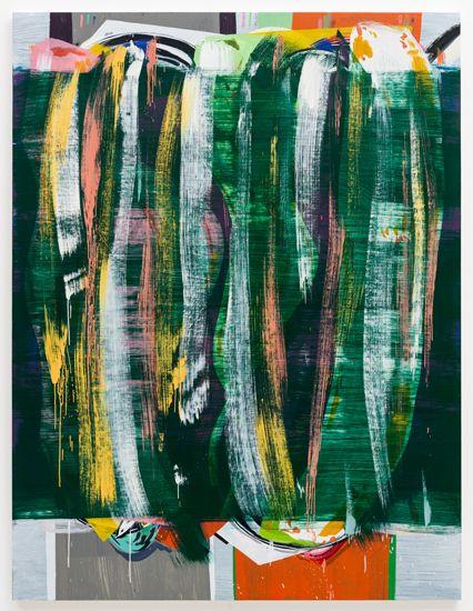 Jon Pestoni, Trimmings, 2013, oil on canvas, 78 x 60 inches (198.1 x 152.4 cm)
