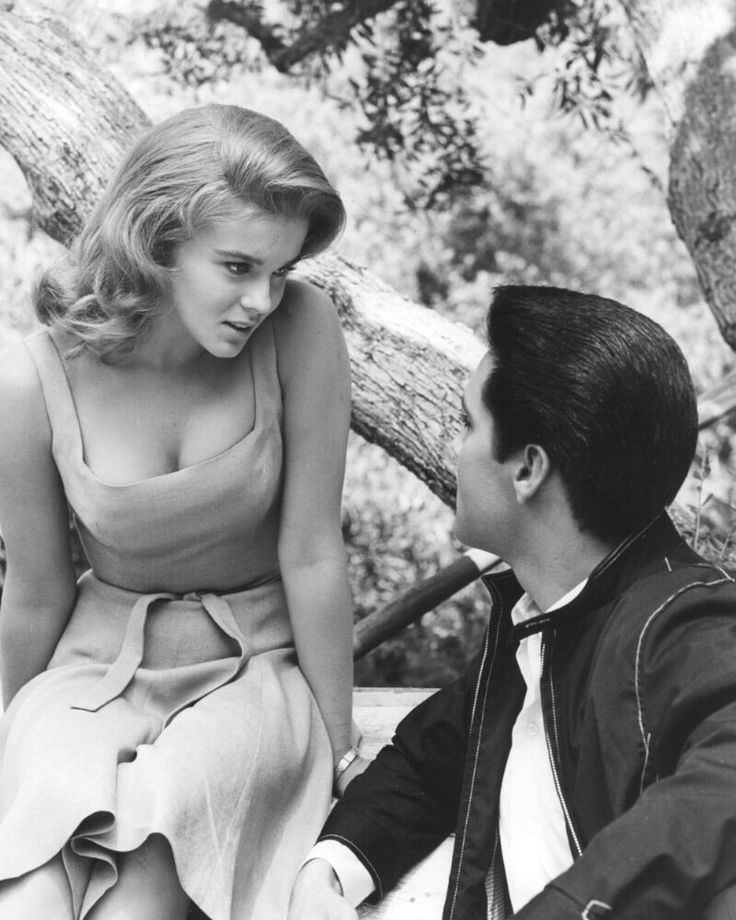 One of the most beautiful women in the world Ann-Margaret and Elvis Presley  1963  Ever since I was four years old I loved making people smile making them think making them feel good feel some kind of emotion  Ann-Margaret