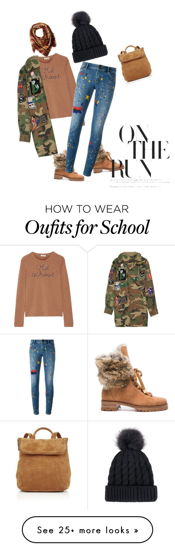 """""""Lady Boots on the ground"""" by zaynabi on Polyvore featuring Lingua Franca, Alexandre Birman, La Fiorentina, Whistles, Alice + Olivia and Marc Jacobs"""