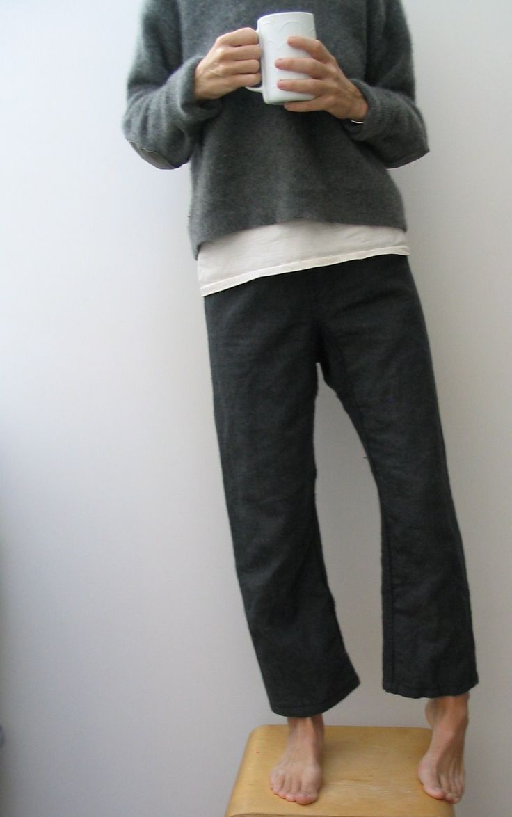 linen pants look oh so comfortable drawstring waist or a fold over jersey waist- yes?
